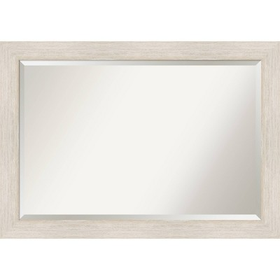 Hardwood Framed Bathroom Vanity Wall Mirror - Amanti Art