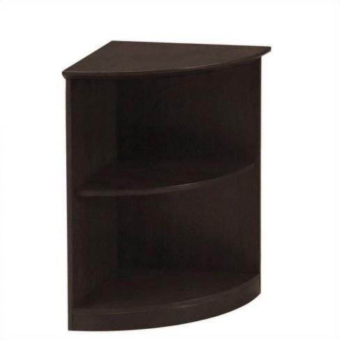 Wood Medina Bookcase 2 Shelf 0.25 - Round in Mocha Brown - Safco - image 1 of 1