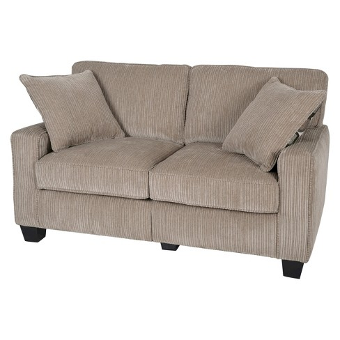 "Serta® RTA Palisades Collection 61"" Loveseat in Flagstone Beige, CR43529PB - image 1 of 5"