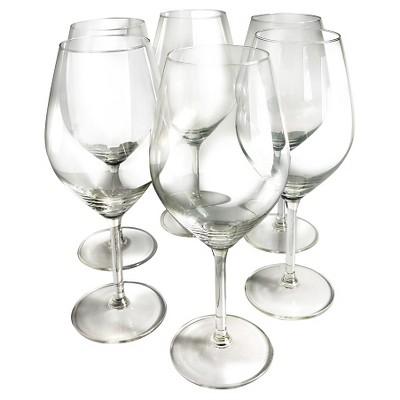 Epicureanist Illuminati Red Wine Glasses 21oz (Set of 6)