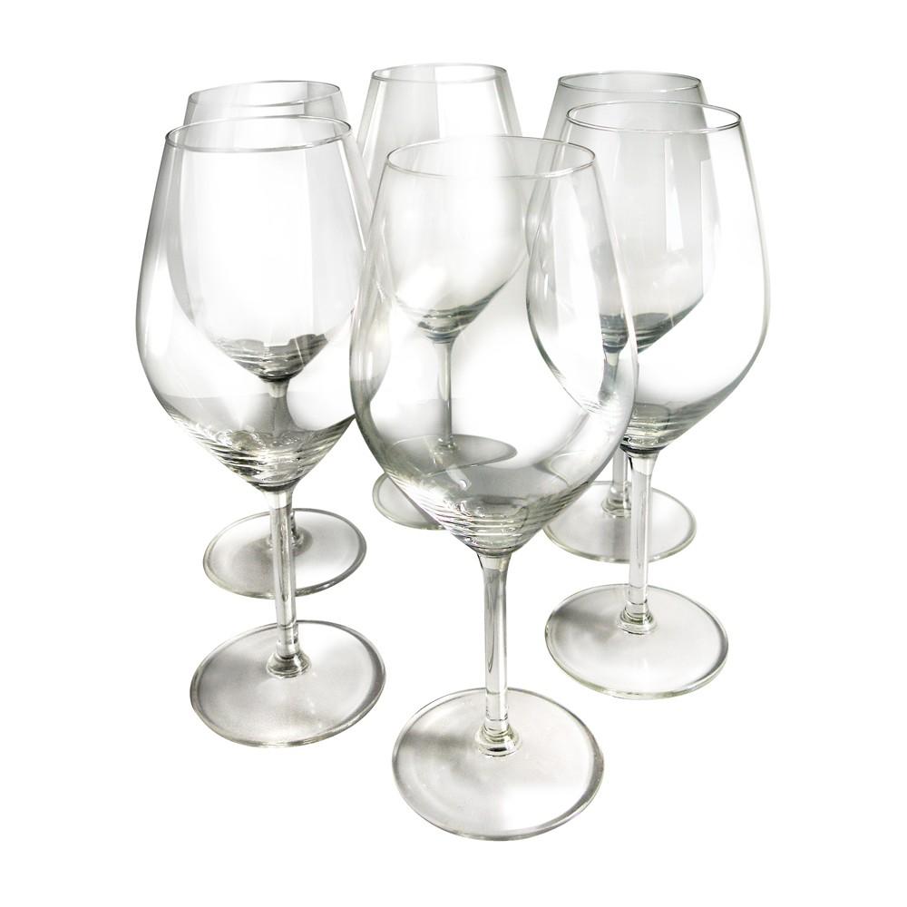 Image of Epicureanist Illuminati Red Wine Glasses 21oz (Set of 6)