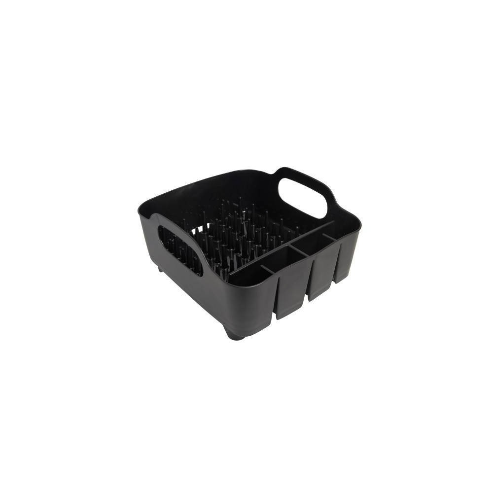 Image of Plastic Dish Rack Tub Black - Umbra