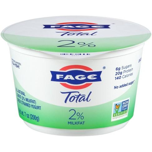 FAGE Total 2% Milkfat Plain Greek Yogurt - 7oz - image 1 of 3