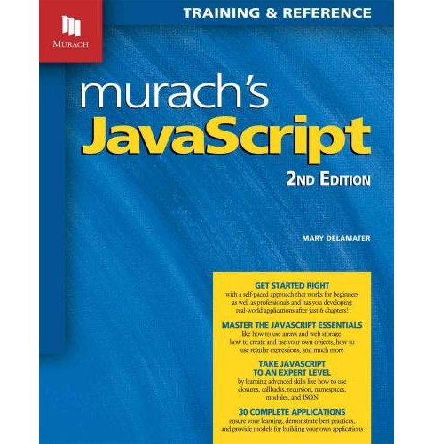 Murach's Javascript (Paperback) (Mary Delamater) - image 1 of 1