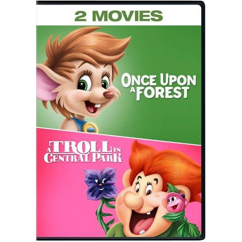 A Troll In Central Park / Once Upon A Forest (DVD) - image 1 of 1
