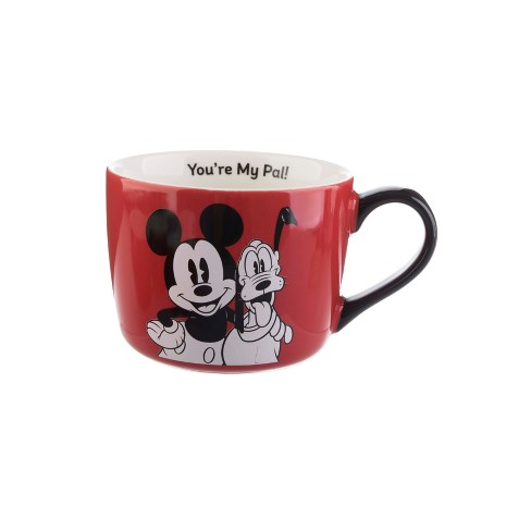 Mickey Formation Friends 15oz Mouseamp; My Coffee Mug You're Disney Brands Porcelain Pal Llc wZTOkuPiXl