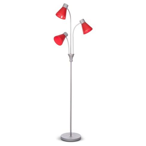 Multi Head Floor Lamp Includes Cfl Bulb Room Target