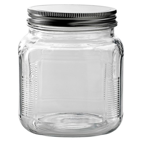 Anchor Hocking Glass Cracker Jar with Metal Lid - image 1 of 1