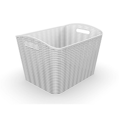 26L Wave Design Curved Basket - Room Essentials™