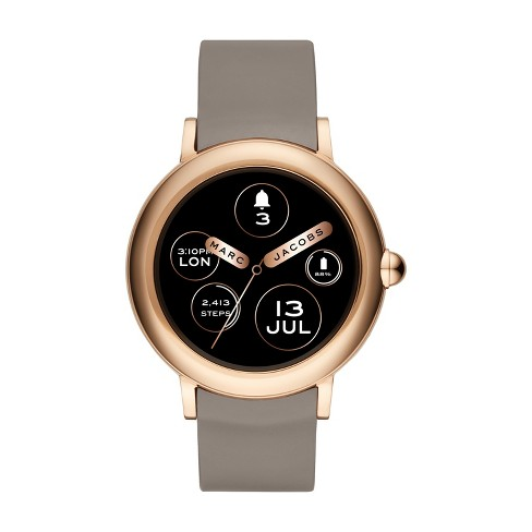 7a8c93484b0 Marc Jacobs Smartwatch - Riley 42mm Touchscreen Rose Gold   Target