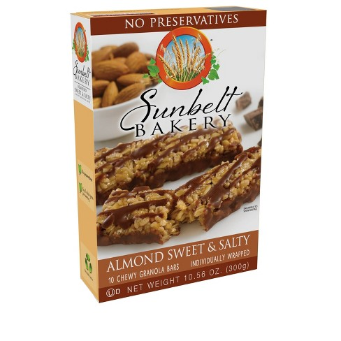 Sunbelt Bakery Almond Sweet & Salty Granola Bars 10ct - image 1 of 4