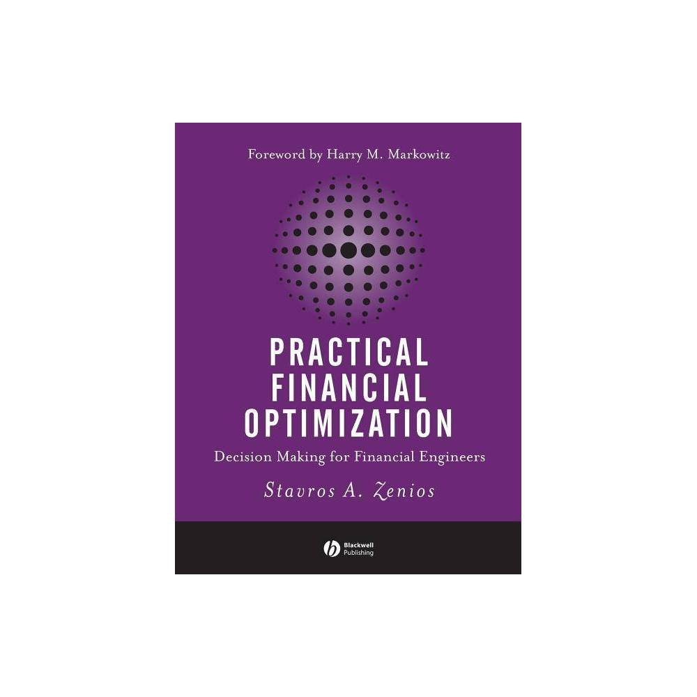 Practical Financial Optimization By Stavros A Zenios Paperback
