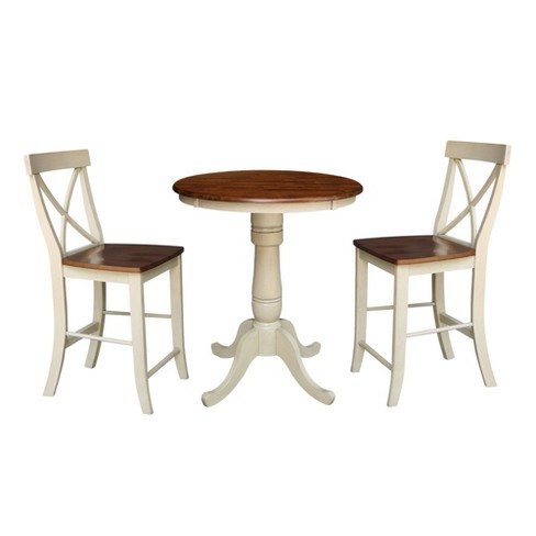 30 Round Pedestal Gathering Table With, Round Gathering Table