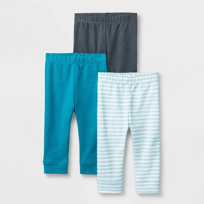 Baby Boys' Co-Pilot 3pk Pants - Cloud Island™ 6-9M