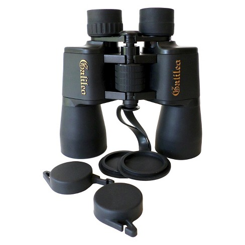 Galileo 8x40 Wide Angle Binoculars - Black - image 1 of 3