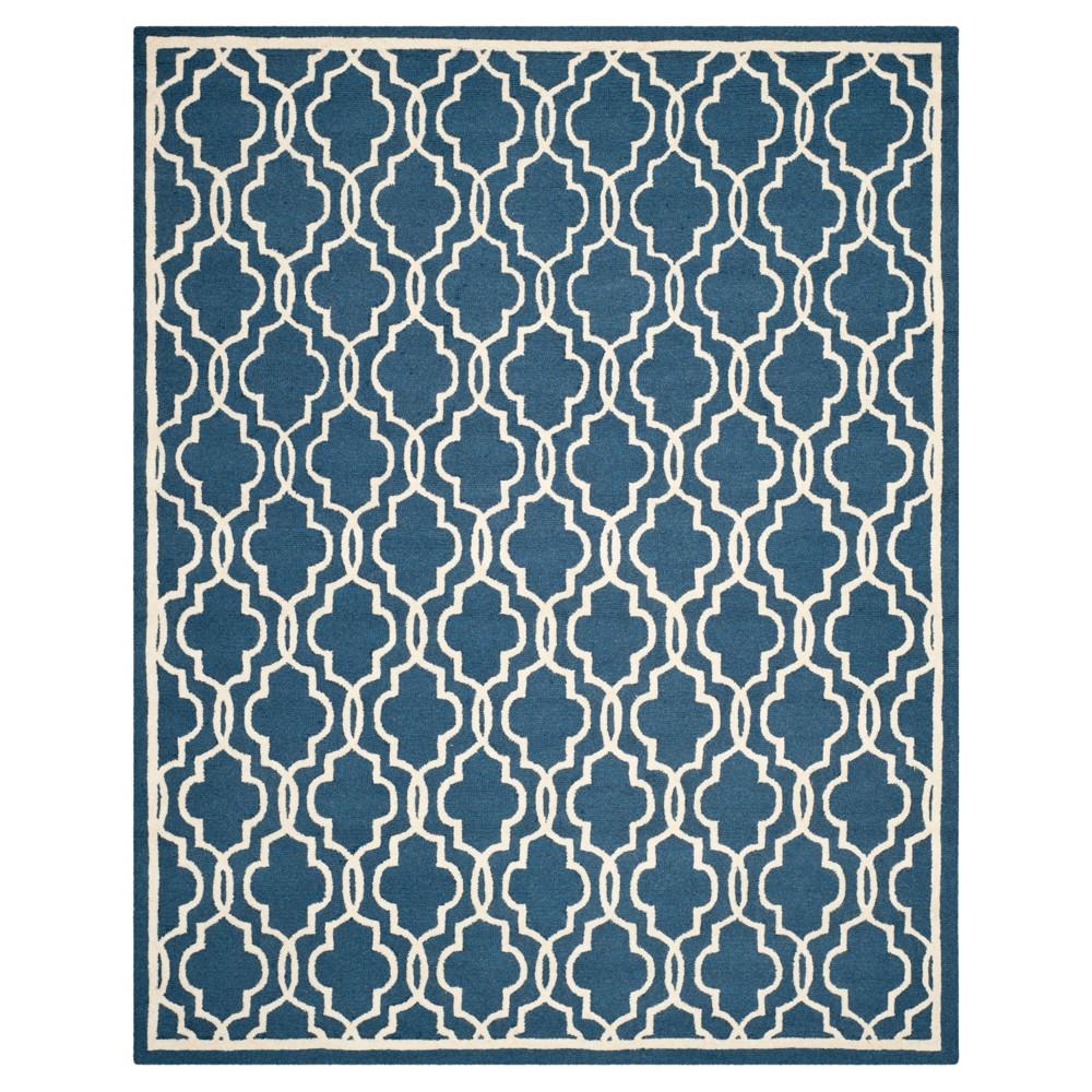 Langley Textured Area Rug - Navy/Ivory (Blue/Ivory) (6'x9') - Safavieh