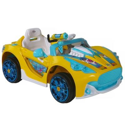 Dynacraft 6V Baby Shark Super Car Powered Ride-On