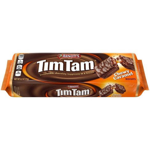 Arnott's® Tim Tam® Chewy Caramel Cookies, 6.2oz Tray - image 1 of 6