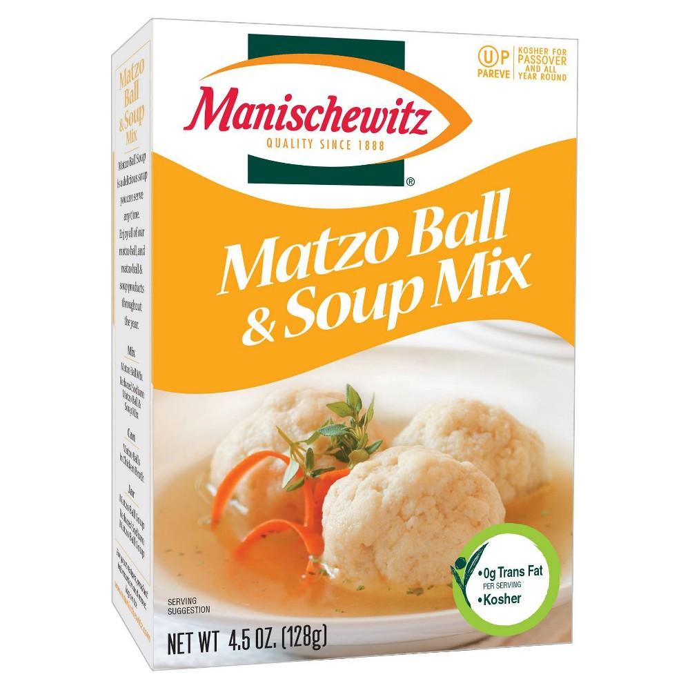Manischewitz Matzo Ball 38 Soup Mix 4 5oz