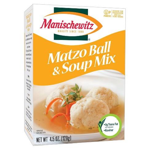 Manischewitz Matzo Ball & Soup Mix 4.5 oz - image 1 of 1