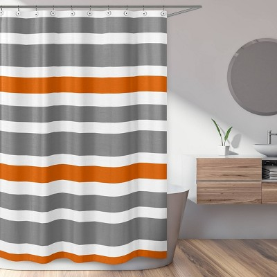 Striped Shower Curtain Orange - Sweet Jojo Designs