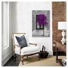 Tree in Front of Window Purple Pop Color Pop by Panoramic Images Canvas Print - image 2 of 3