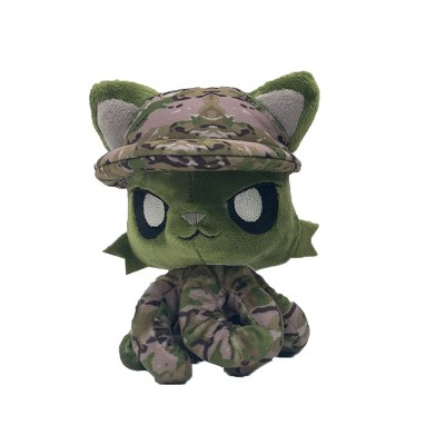 Tentacle Kitty First Responders & Essentials Little Ones Plush | Military Kitty