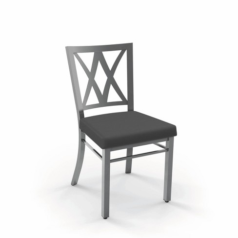 Washington Dining Chair Metal/Gray - Amisco - image 1 of 4