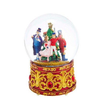Kurt Adler 120MM Musical Lighted Nutcracker Waterglobe