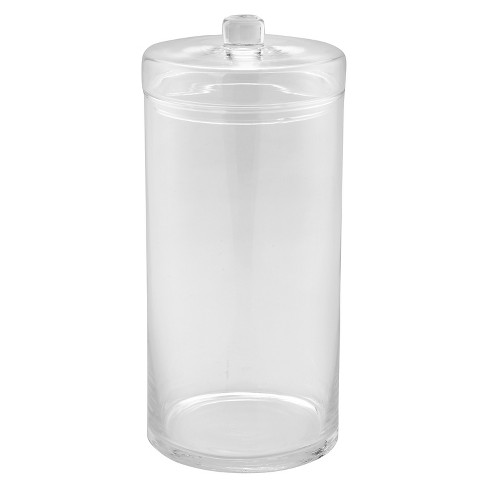 """Diamond Star Glass Apothecary Jar with Lid Clear (14""""x6.5"""") - image 1 of 1"""