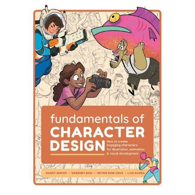Fundamentals of Character Design - by  Publishing 3dtotal (Paperback)