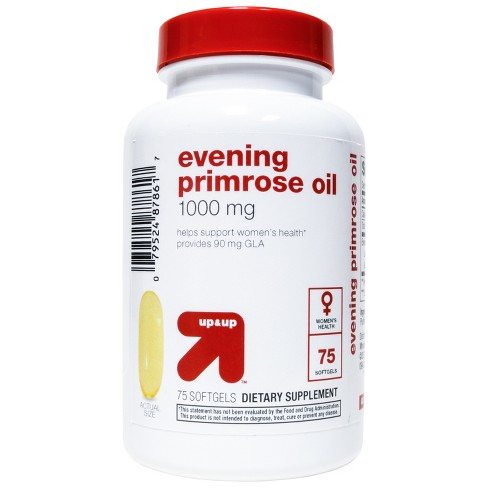 Evening Primrose Oil Dietary Supplement Softgels - 75ct - Up&Up™ - image 1 of 2