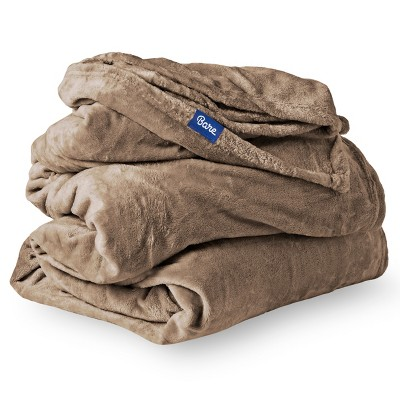 Microplush Fleece Bed Blanket by Bare Home