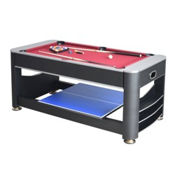 Hathaway Triple Threat 6' 3-in-1 Multi Game Table