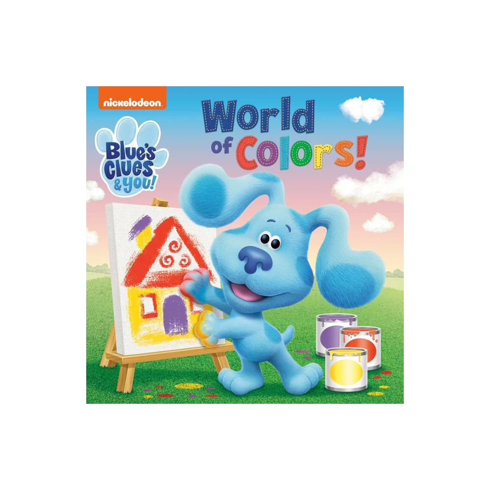World Of Colors Blue S Clues You Board Book