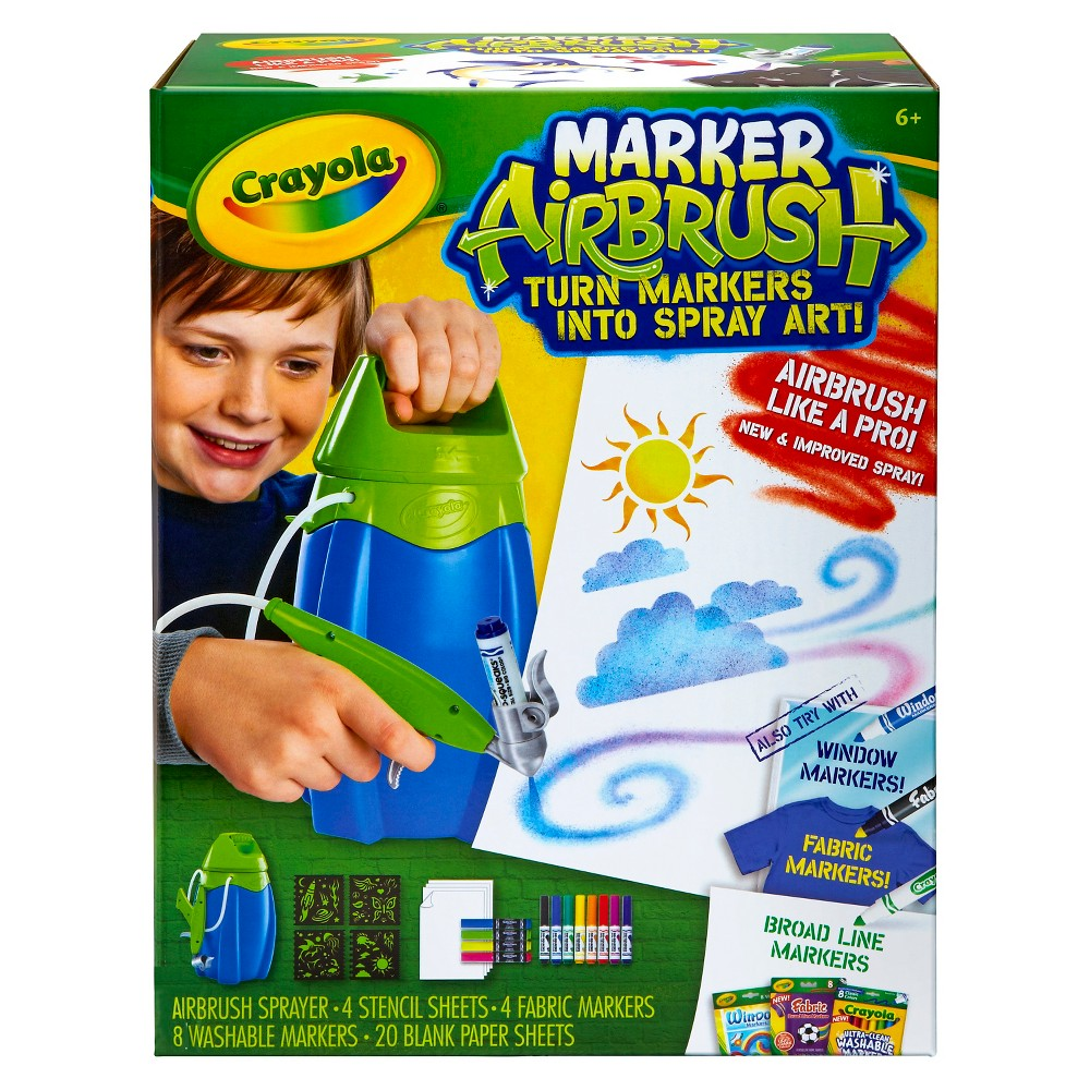 Crayola Marker Airbrush, Blue/Green
