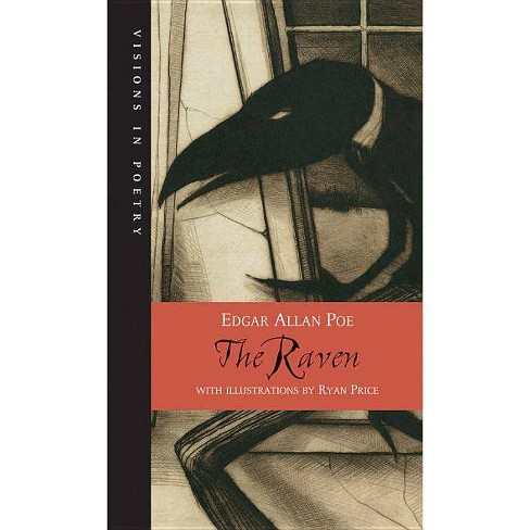The Raven - (Visions in Poetry) by  Edgar Allan Poe (Paperback) - image 1 of 1
