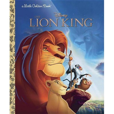 The Lion King (Disney the Lion King) - (Little Golden Book) by  Justine Korman (Hardcover)