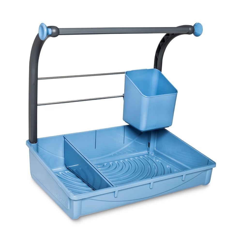 Image of Solid Bath Utility Storage Bin Blue - Polder