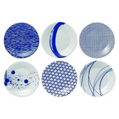 Royal Doulton® Pacific Tapas Plates - 6 x6  Set of 6