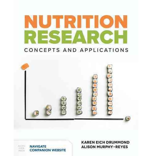 Nutrition Research : Concepts and Applications (Paperback) (Karen Eich Drummond & Alison Murphy-Reyes) - image 1 of 1