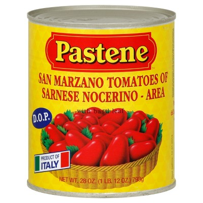 Canned Tomatoes & Paste: Pastene