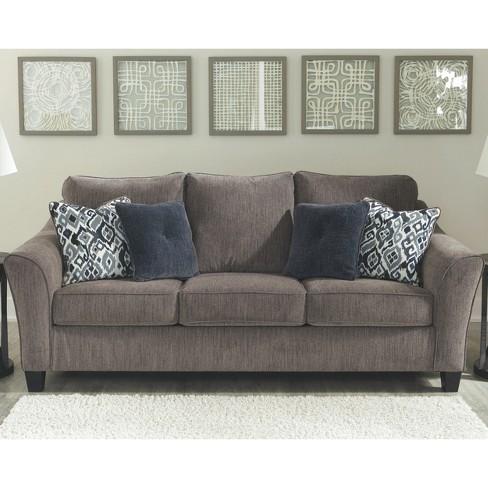 Nemoli Sofa Slate Gray Signature Design By Ashley Target