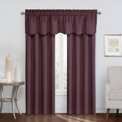 Canova Thermaback Room Darkening Window Curtain/Valance Panels - Eclipse