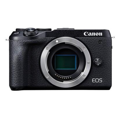 Canon EOS M6 Mark II Mirrorless Camera Body (Black)