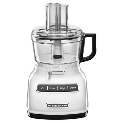 KitchenAid 7 Cup Food Processor with ExactSlice System White - KFP0722WH