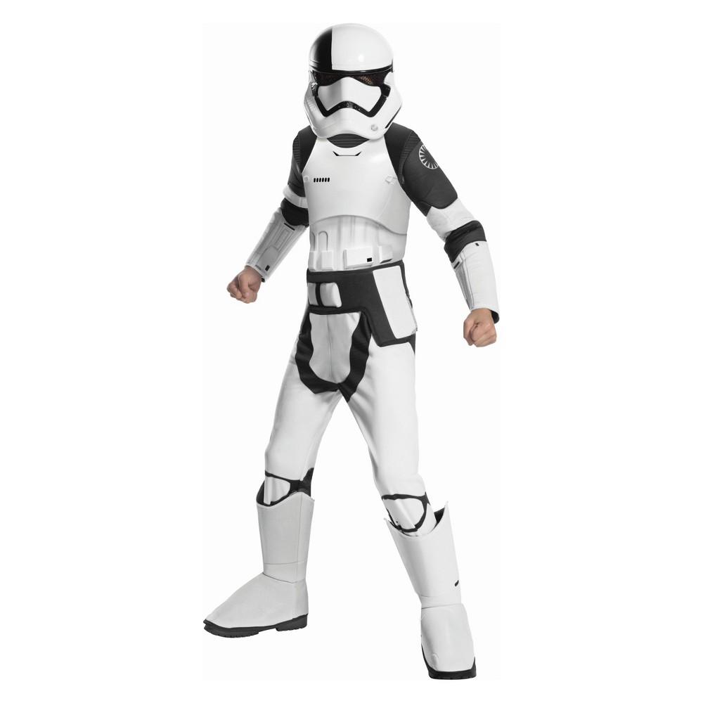 Boys' Star Wars Episode Viii Stormtrooper Halloween Costume M, Multicolored