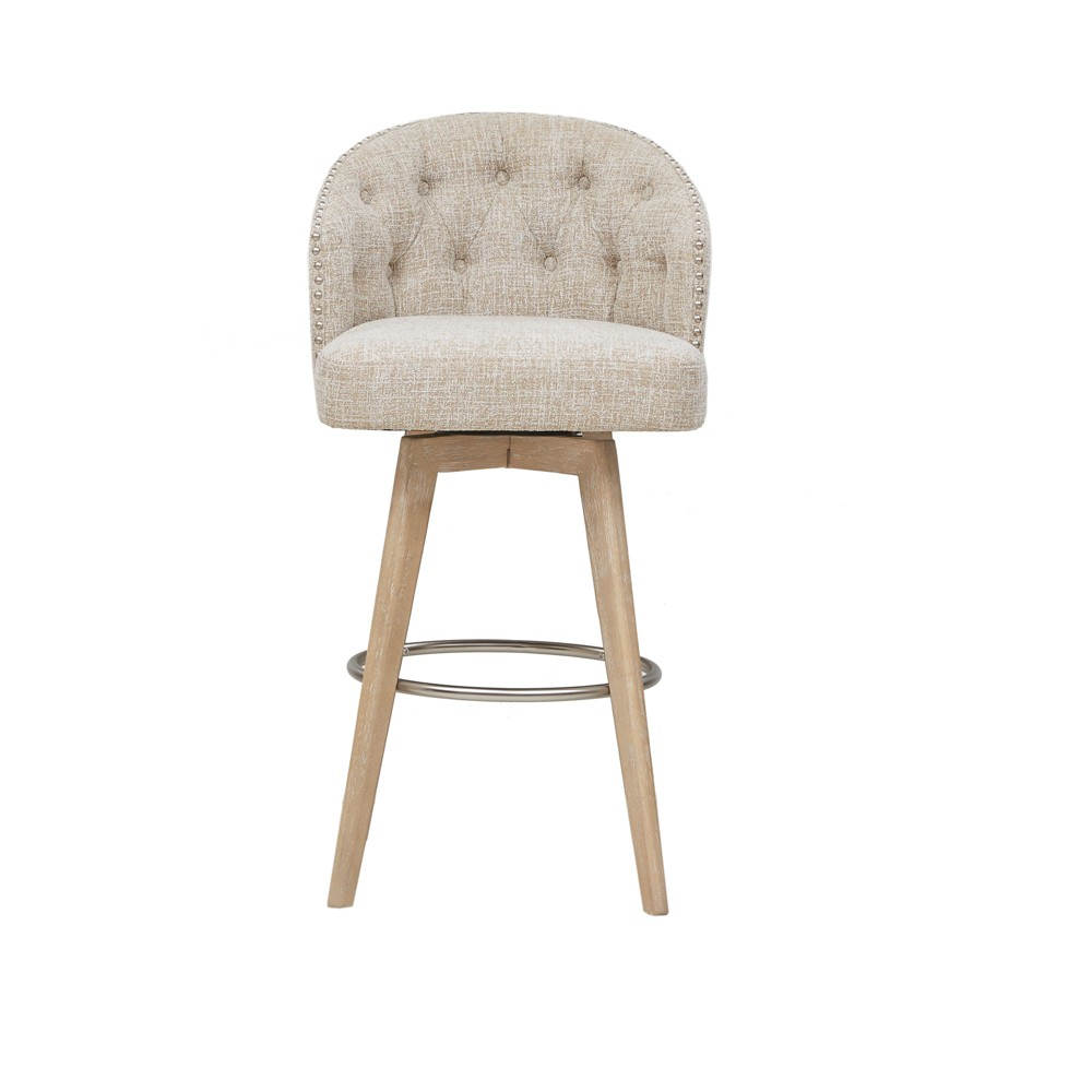 Grattan Swivel Barstool Cream