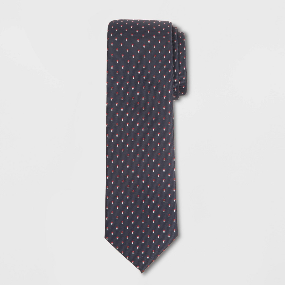Image of Men's Arrow Print Tie - Goodfellow & Co Federal Blue One Size, Blue Red