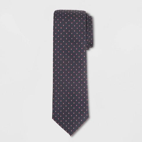Men's Arrow Print Tie - Goodfellow & Co™ Federal Blue One Size - image 1 of 1